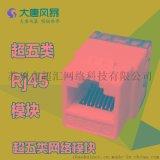 大唐風暴 MK10-5 超五類模組 網路模組rj45 超5類 信息模組