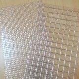 廠家防曬阻燃夾網布 防水箱包布 高強透明網格布