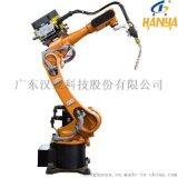 自動化六軸焊接機器人 東莞漢亞焊接機器人