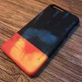 苹果6 苹果7 热感拼色手机壳 iphone6 iphone7热感应变色6s感温手机保护套 皮套