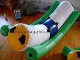 新款水上趣味充氣玩具/百美趣味水上壓壓板直銷生產/優質安全