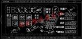 華彩勝HCS2103按摩椅控制器LCD液晶顯示屏