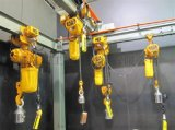 DHS环链电动葫芦 2t-3m电动环链葫芦 工字钢曲线轨道电动环链葫芦 门式起重机环链葫芦