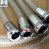 XXYRG食品級硅膠鋼絲管,制藥軟管,夾布鋼絲增強硅膠管
