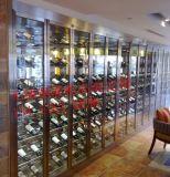 钢之源欧式不锈钢酒柜,福建钛金不锈钢红酒柜