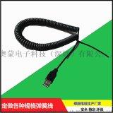 PU TPU PVC 彈簧線螺旋線定制廠家