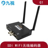 WIFI无线4G高清SDI编码器支持网络直播、视频会议
