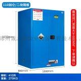 110加仑危险化学品存储柜,易燃可燃液体防火柜