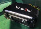 精致鋁箱 醫療儀器包裝箱 六角全黑鋁合金箱 LED燈裝示箱