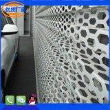 加工定做奧迪寶馬4S店外牆鋁板裝飾網 蜂窩孔網板 穿孔板