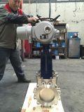 PZ973W-10P電動刀閘閥,刀型閘閥