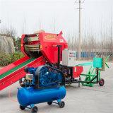 甘肅武威青儲玉米秸稈打捆機 秸稈青貯打包機廠家報價