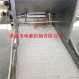 速冻玉米饼上浆机 玉米饼上浆裹糠生产线设备