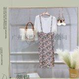 蒂缇连衣裙品牌折扣女装 伊芙丽专柜尾货直播货源