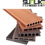 塑木材料厂家塑木复合地板水景平台铺板田园栈道地板