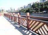 1.8米萬字型仿木護欄模具水泥仿木欄杆混凝土制品