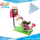 兒童新款3D賽馬搖擺機,七彩液晶馬機搖搖車,新款投幣搖擺機廠家直銷