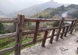 雨沫仿木欄杆設計特點