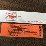 工厂直销pvc夹网布商标牌防水涂层布印刷标签