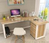 创意新款时尚L型家用简约电脑桌 板式转角办公桌