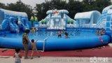 移動水樂園大型兒童水滑梯冰雪世界非常給力