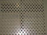 安平兴博直销304不锈钢三角孔冲孔板