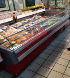 北极洋XRG-3.0风冷菜场鲜肉冷藏展示柜