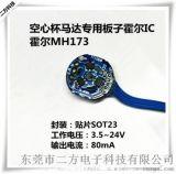 直流空心杯馬達電機專用霍爾MH173