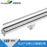 帶擋板led線條燈_貼片洗牆燈_12W小功率線形燈