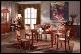 廠家直銷實木餐桌椅組合 餐廳家具橡木餐桌高檔橡木伸縮折疊飯桌