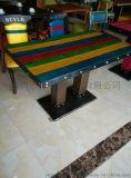 橡木餐桌 可伸縮折疊實木餐桌椅組合 餐桌餐椅套裝 實木餐椅