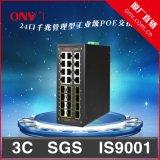 交換機 光網視 POE工業以太網交換機全方位監控