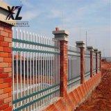圍牆鐵藝柵欄、工廠圍牆護欄、鋅鋼護欄作用
