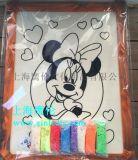 厂家批发 儿童木板彩泥画 8寸图案木板画 儿童美术彩绘玩具