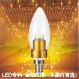 獨家推出首款色溫2700K恆定不變LED三叉尖泡蠟燭燈