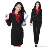 上海红万 女式西装制服 西服定制