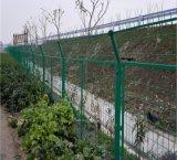 河道铁艺防护网 河边浸塑护栏网厂家