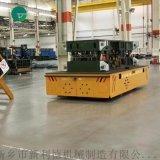 搬運塑膠模具12噸無軌平車 無軌膠輪車間過跨車