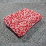 环保PVC充气方型植绒枕 旅行充气方形枕头