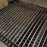 正捷不锈钢链板式网带 耐高温输送网带