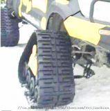 履带厂家 三角履带总成 越野车橡胶履带轮