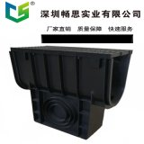 耐腐蝕HDPE截水溝 高強度U型下水道  塑料蓋板 不鏽鋼蓋板