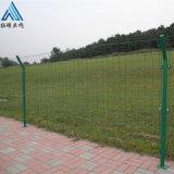 綠色金屬防護欄 綠色防護柵欄