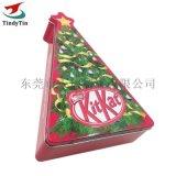 聖誕系類禮品包裝 異形馬口鐵盒 糖果餅幹異形罐