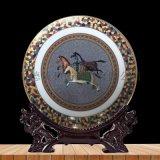 景德鎮陶瓷 創意定制擺盤 退休紀念盤