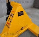 諾力牌2T/3噸手動液壓搬運車 手拉託盤叉車