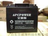 大連市艾佩斯蓄電池UD-17-12UPS不間斷電源