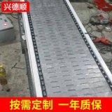 不锈钢无动力带式输送机 爬坡输送设备 经久耐用高温不锈钢输送机