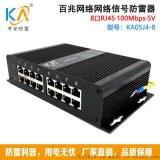 可安RJ45百兆、千兆網路信號防雷器