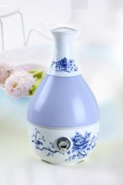 陶瓷加湿器(HD-7066)-蓝玫瑰(HD-7066)